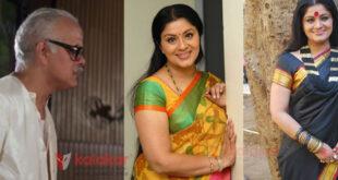 actress sudha chandran father KD chandran sad demise