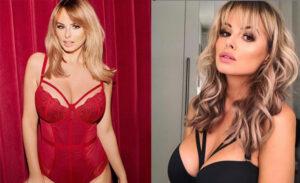rhian sugden lingerie model manchester