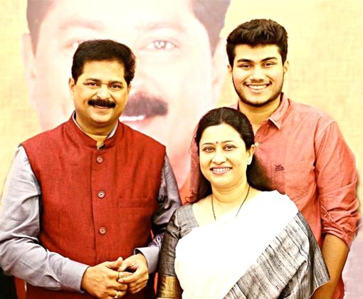 aadesh bandekar suchitra bandekar and soham