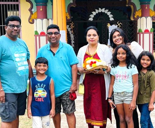 bhau kadam family with brother shyam