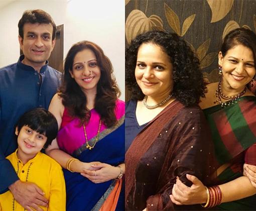 madhura family and sister gauri meera welankar