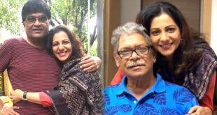 madhura velankar with ashok mama and mohan joshi