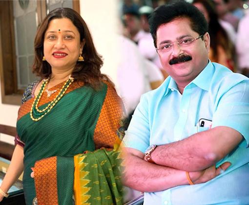 suchitra and aadesh bandekar