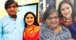 superstar ashok saraf with nivedita saraf