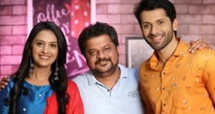 tejashri pradhan and ashutosh with director agabai sasubai