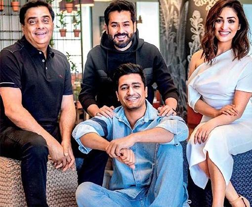 yami with aditya dhar and vicky kaushal - Team of URI