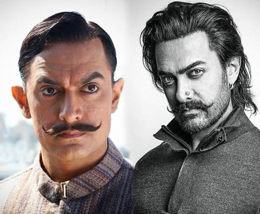 aamir khan new movie look
