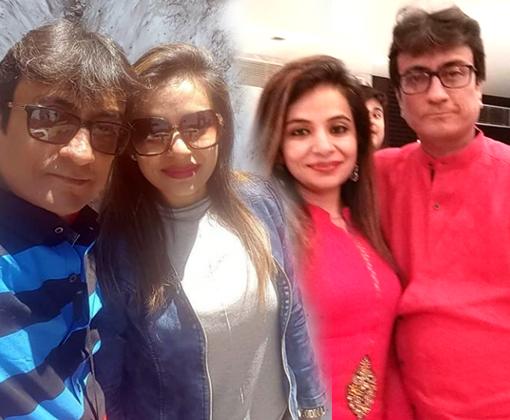 amit bhatt with kriti bhatt