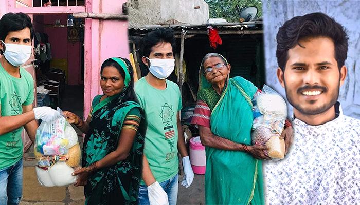 salya arbaj shaikh helping poor