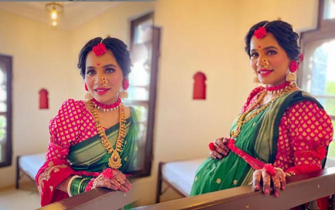 urmila nimbalkar marathi actress ढेपे वाडा