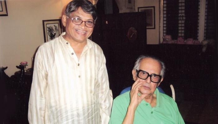 actor ajit kelkar with r k laxman