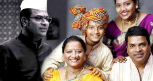 bharat jadhav family