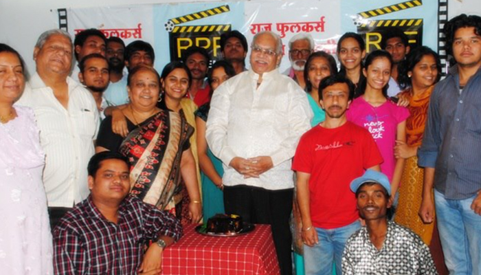 raju phulkar film academy opening