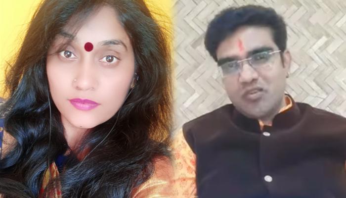 umesh gawali and sandhya keshe